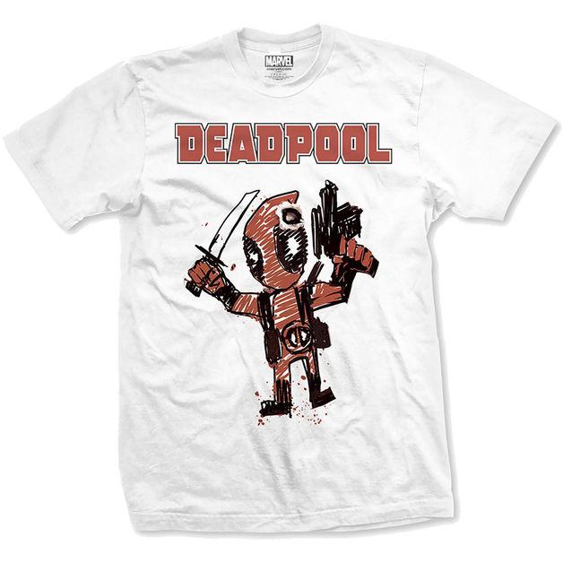 Deadpool Cartoon Bullet (XX Large)