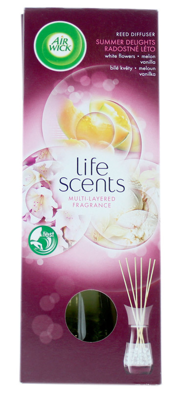 Airwick: Life Scents Reed Diffuser - Summer Delights (30ml)