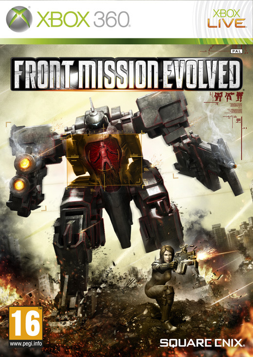 Front Mission: Evolved for X360