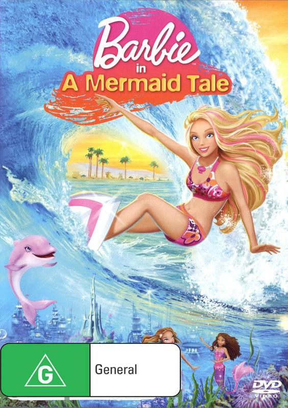 Barbie in A Mermaid Tale on DVD