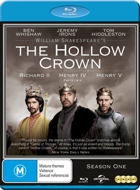 The Hollow Crown - Season One on Blu-ray