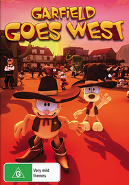 Garfield The Cat: Goes West on DVD