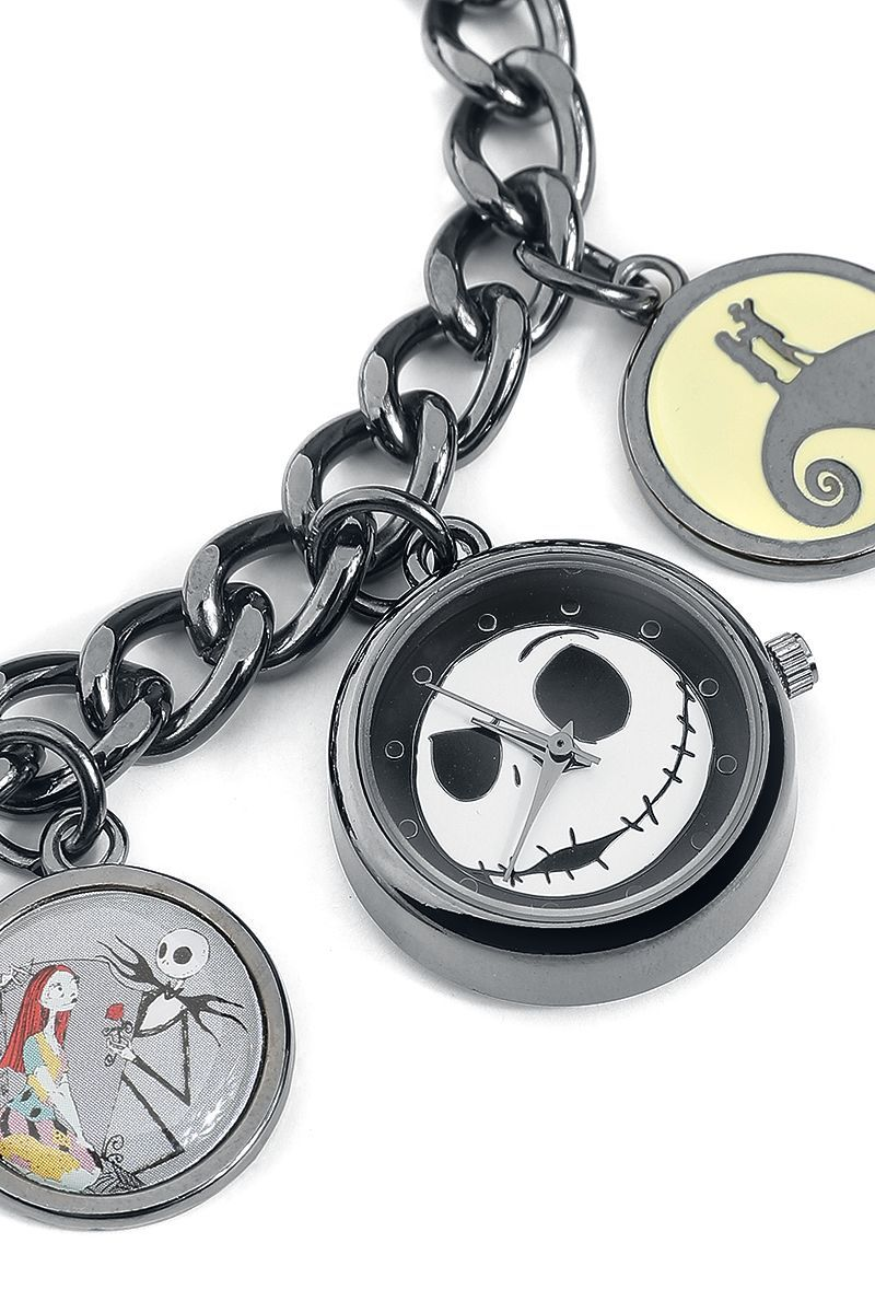 The Nightmare Before Christmas - Watch Charm Bracelet Images at ...
