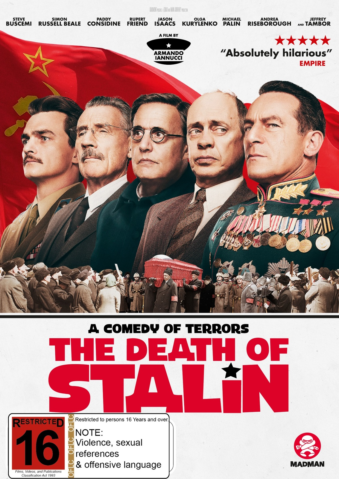 The Death Of Stalin on DVD image