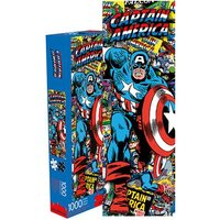 Marvel: 1,000 Piece Slim Puzzle - Captain America Collage