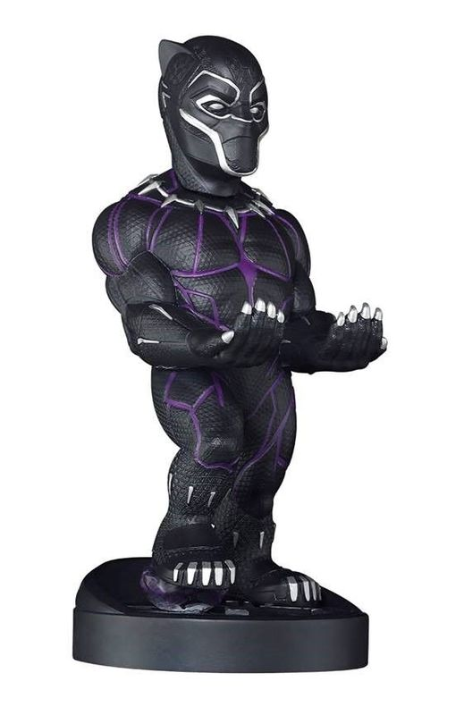 Cable Guy Controller Holder - Black Panther for PS4