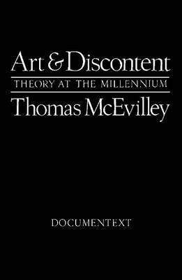 Art and Discontent by Thomas McEvilley image
