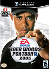 Tiger Woods 2005 for GameCube