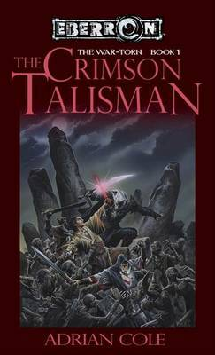 The Crimson Talisman by Adrian Cole image