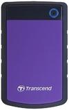 Transcend 500GB USB 3.0 Hard Drive - Purple