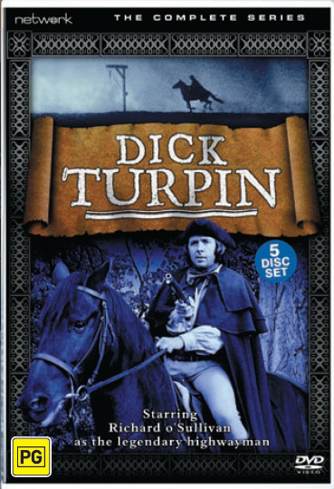 Dick Turpin: Complete Series (5 Disc Box Set) on DVD