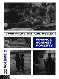 Finance Against Poverty: Vol. 2 by David Hulme