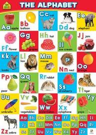 School Zone Alphabet Wall Chart