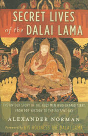 Secret Lives of the Dalai Lama by Alexander Norman image