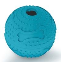 Kazoo: Rubber Treat Ball - Large (Blue)