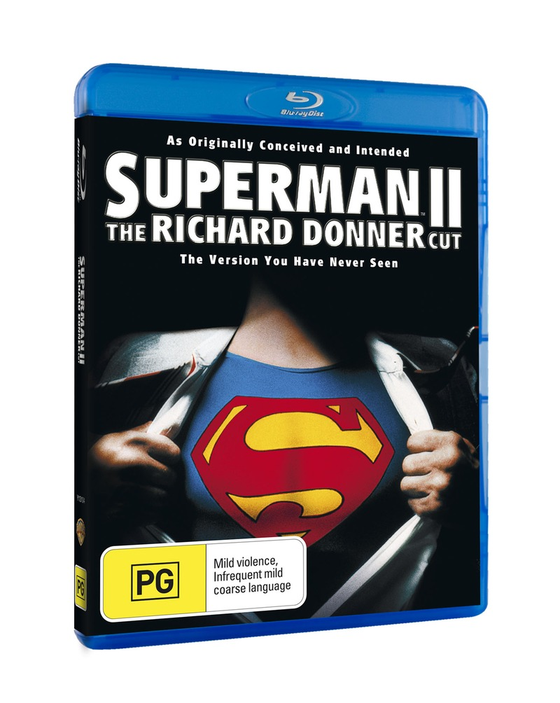 Superman II - The Richard Donner Cut on Blu-ray image