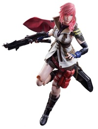 Final Fantasy: Lightning (Dissidia Ver.) - Play Arts Kai Figure image