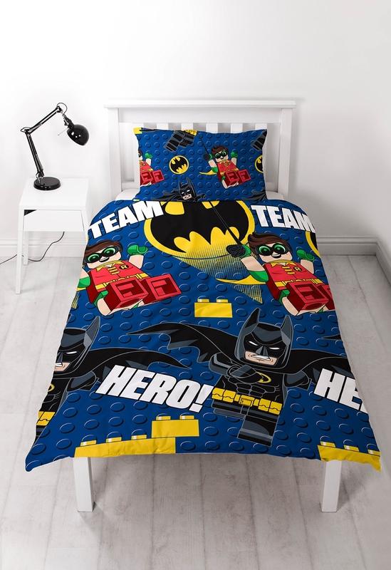 Lego Batman Hero Duvet Set - Single