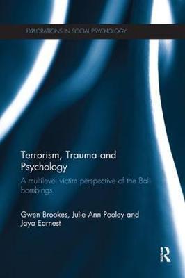 Terrorism, Trauma and Psychology by Gwen Brookes image