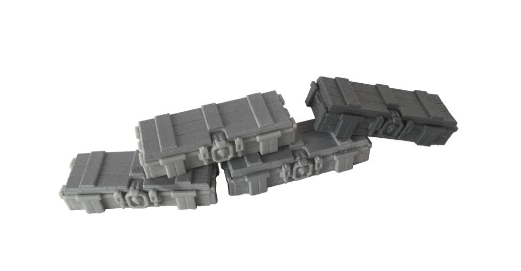 TTCombat: Tabletop Scenics - Ammo Crates image