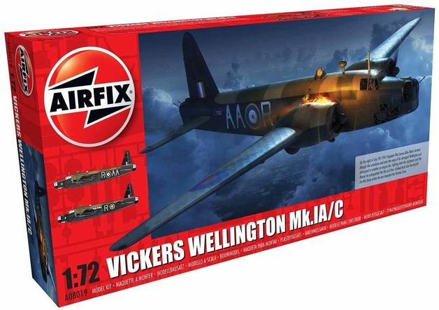 Airfix Vickers Wellington MKI.A/C 1:72 - Model Kit