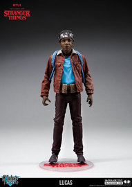 "Stranger Things: Lucas - 7"" Action Figure image"