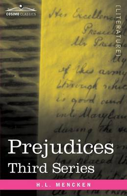 Prejudices by H.L. Mencken