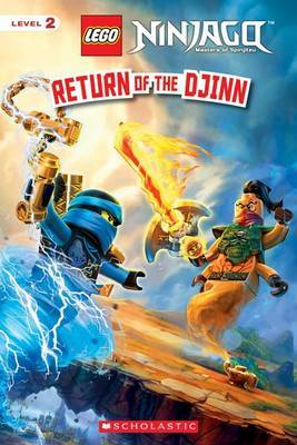 Return of the Djinn (Lego Ninjago: Reader) by Kate Howard