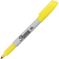 Sharpie: Fine Point Permanent Marker - Yellow