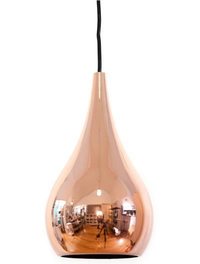 Bear & Fox - Teardrop Copper Ceiling Lamp