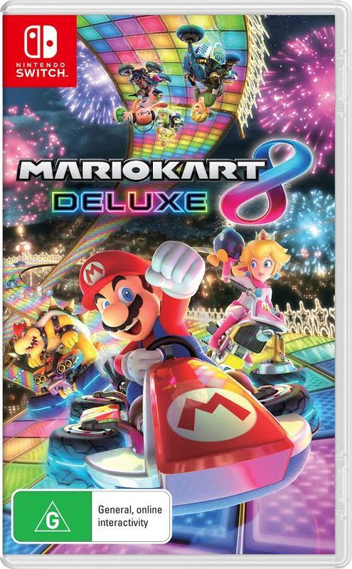 Mario Kart 8 Deluxe for Nintendo Switch