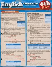 English Common Core 6th Grade by BarCharts Inc