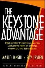 The Keystone Advantage by Marco Iansiti image