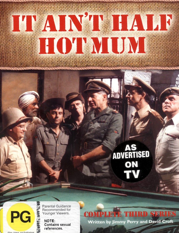 It Ain't Half Hot Mum - Complete Series 3 on DVD image