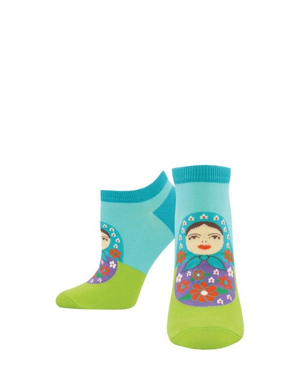 Socksmith: Women's Full Of Themselves Ankle Socks - Teal