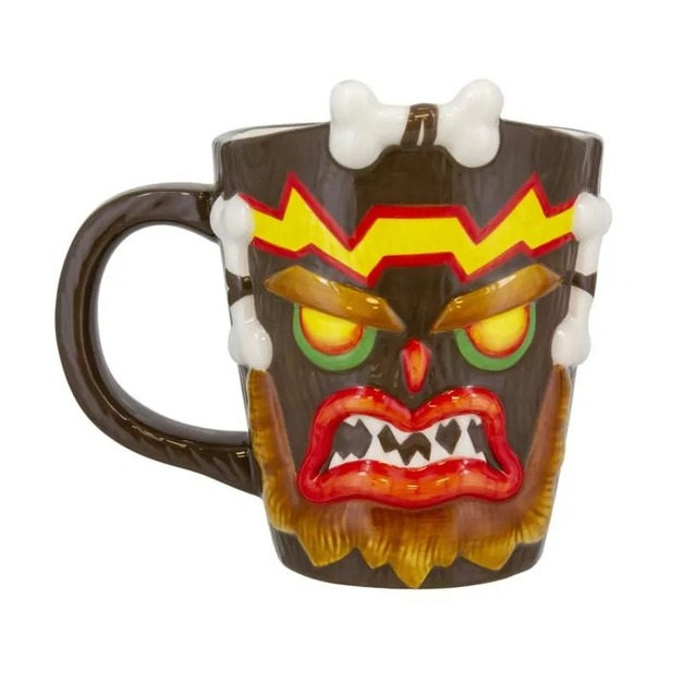 Crash Bandicoot: Uka Uka - Shaped Mug