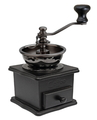 Wood Coffee Grinder (Black)