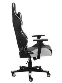 Gorilla Gaming Commander Elite Chair - Black & White for
