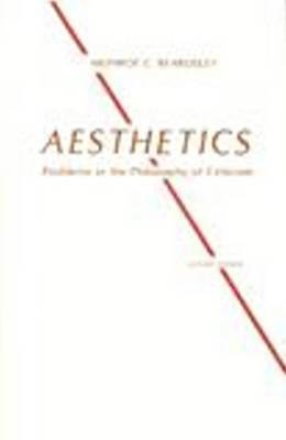 Aesthetics by Monroe C Beardsley image