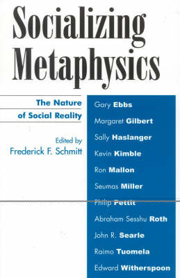 Socializing Metaphysics by Frederick F. Schmitt image