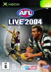 AFL Live 2004 for Xbox