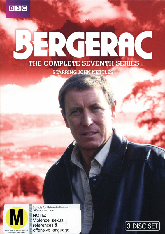 Bergerac - The Complete Seventh Series on DVD