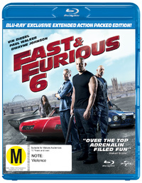 Fast & Furious 6 on Blu-ray