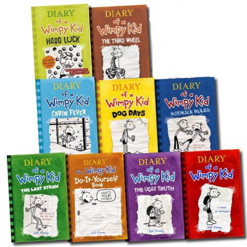 Diary of a wimpy kid box set jeff kinney book buy now at diary of a wimpy kid box set books 1 8 the do solutioingenieria