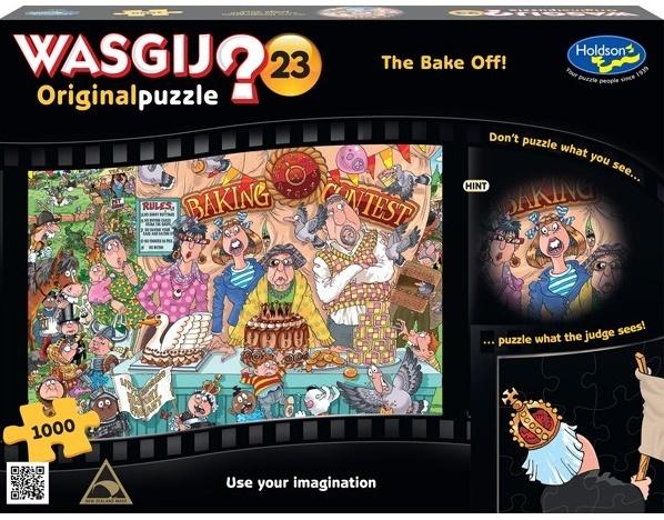 Wasgij: Original - The Bake Off 1000pce Puzzle