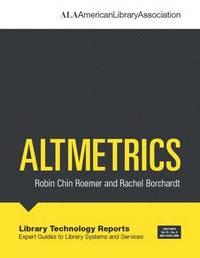 Altmetrics by Robin Chin Roemer