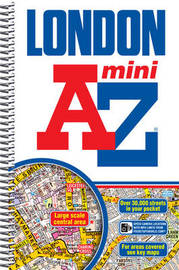 Mini London Street Atlas by Geographers A-Z Map Company