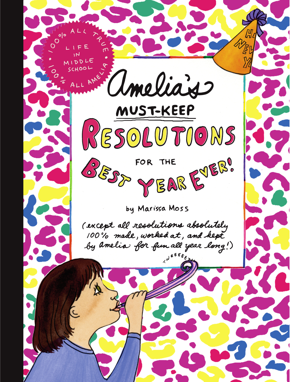 Amelia's Must-Keep Resolutions for the Best Year Ever! by Marissa Moss image