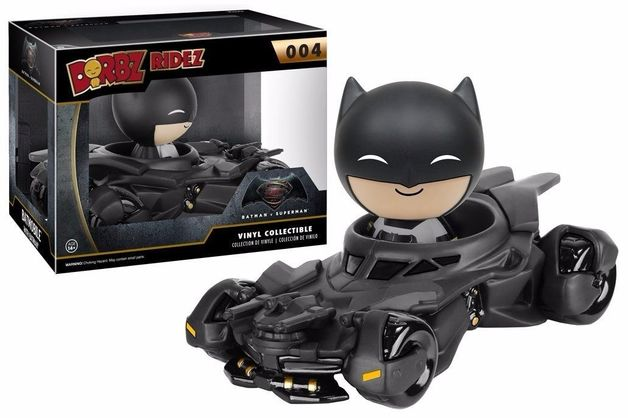 Batman vs Superman: Batmobile Dorbz Ridez Vinyl Figure