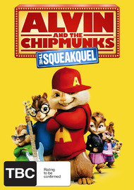 Alvin And The Chipmunks: The Squeakuel on DVD